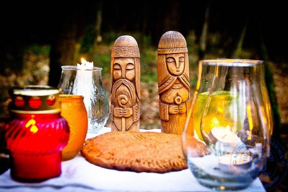 Осенние обряды в народной традиции Руси
