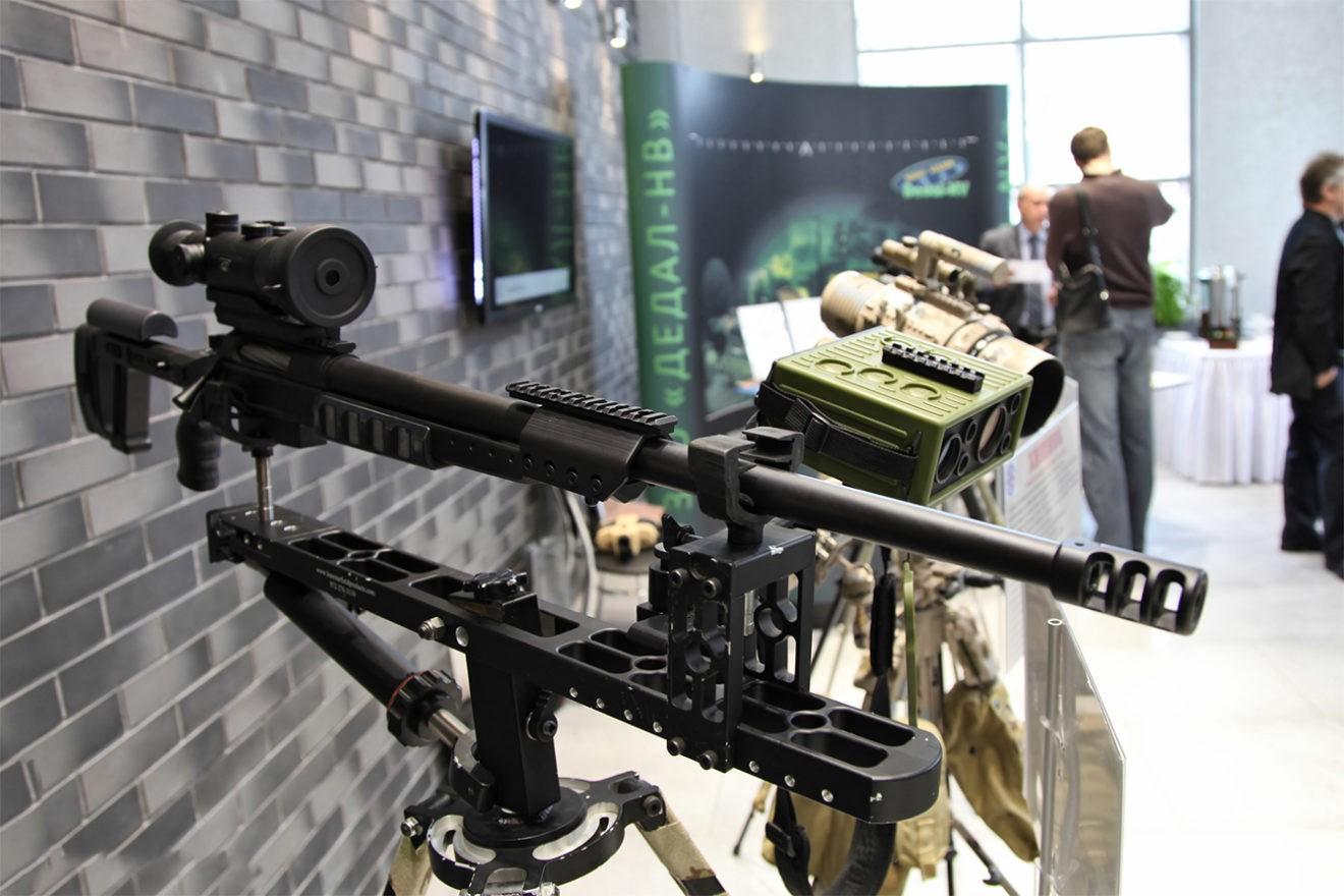 """Система """"Антиснайпер"""" в комплекте со снайперской винтовкой"""