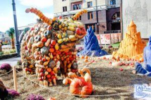 Золотая осень на Манежной площади