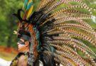 Индейский венец из перьев - национальные традиции коренных народов