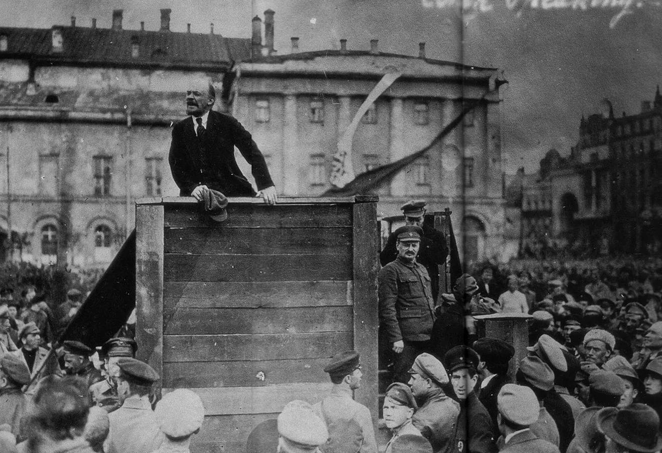 7 ноября 1917 года - День Октябрьской Социалистической революции в России