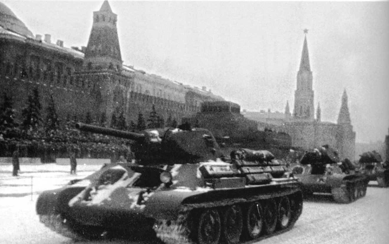 День проведения военного парада на Красной площади в 1941 году
