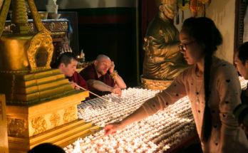 Зула Хурал — «Праздник тысячи лампад»
