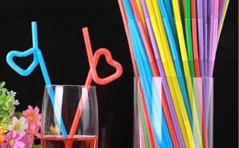 День рождения соломинки для коктейлей