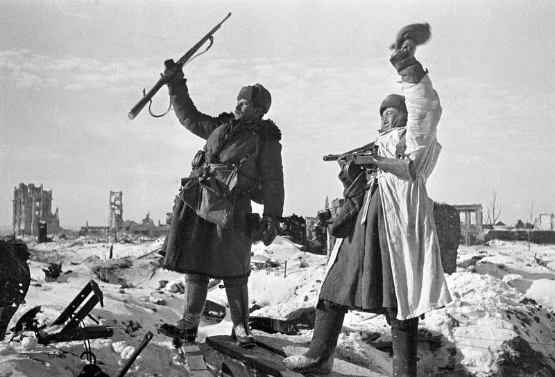 День разгрома советскими войсками немецко-фашистских войск в Сталинградской битве (1943 год)