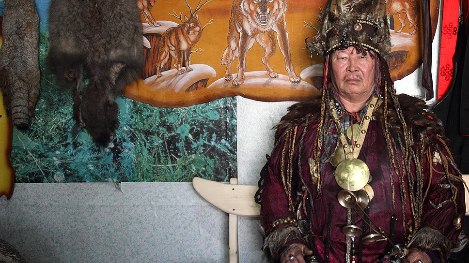 Верховный шаман России Кара-оол Допчун-оол