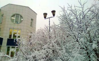 Снежно и тепло