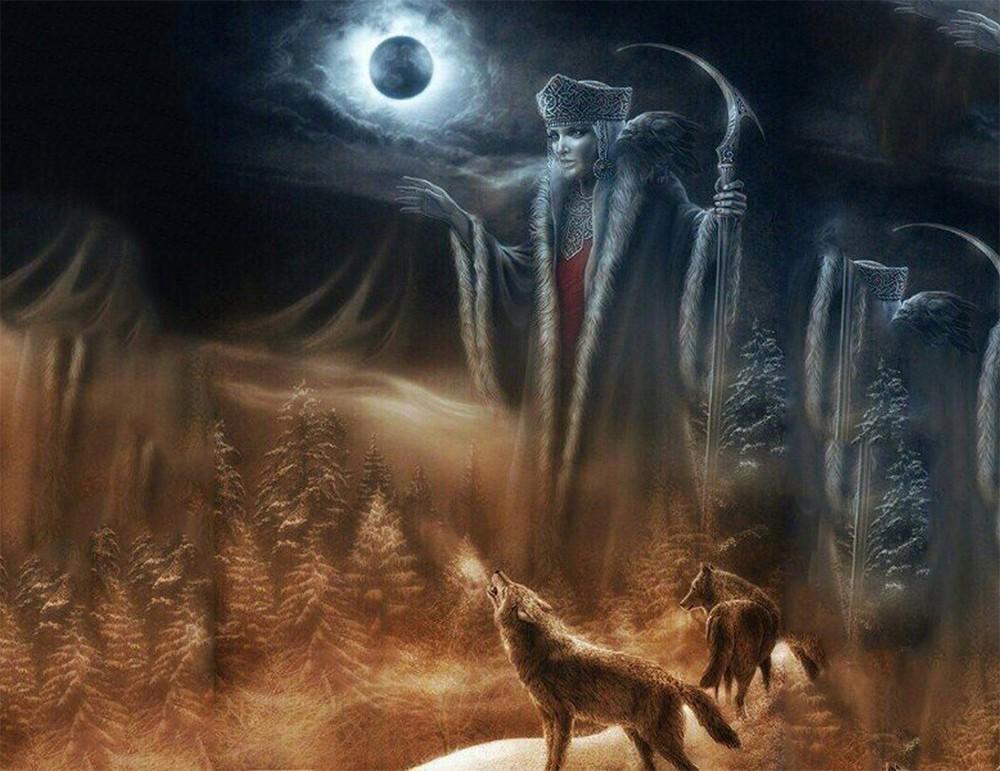 Марена — Великой Богини Зимы и Смерти