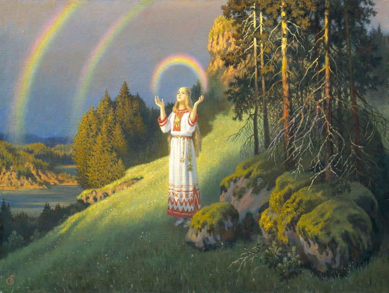 Радоница -весенний зачин, приглашение предкам