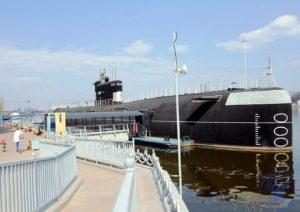 """Подводная лодка Б-396 """"Новосибирский комсомолец"""""""