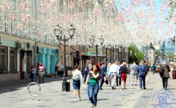 Улица Рождественка Москвы