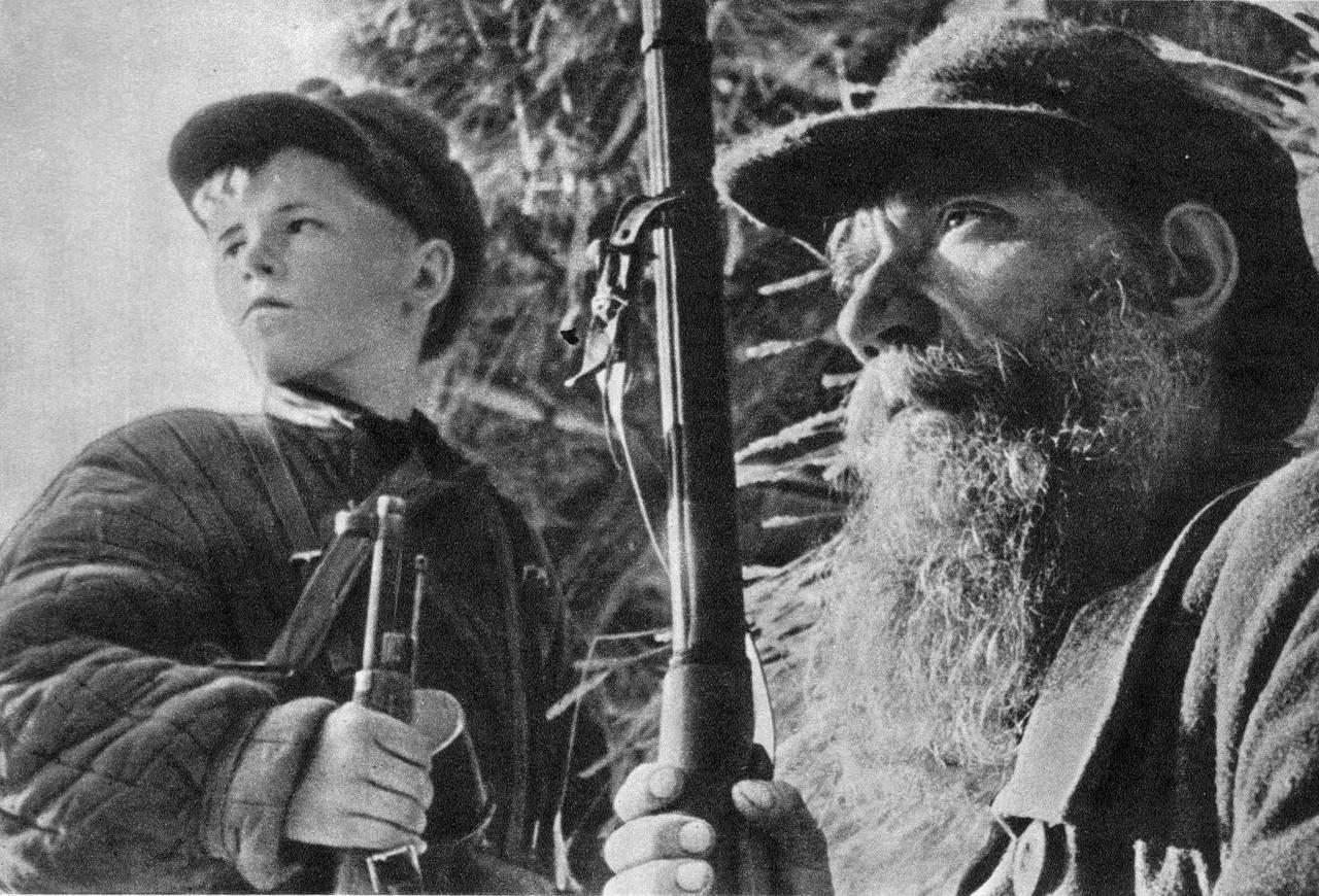 Партизанское движение было сильным, а главное эффективным в течении все Великой Отечественной Войны
