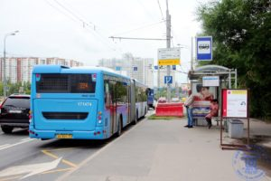 """Автобусная остановка """"Улица Лобачевского"""""""