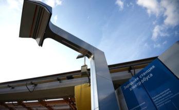 Зарядная станция электробуса
