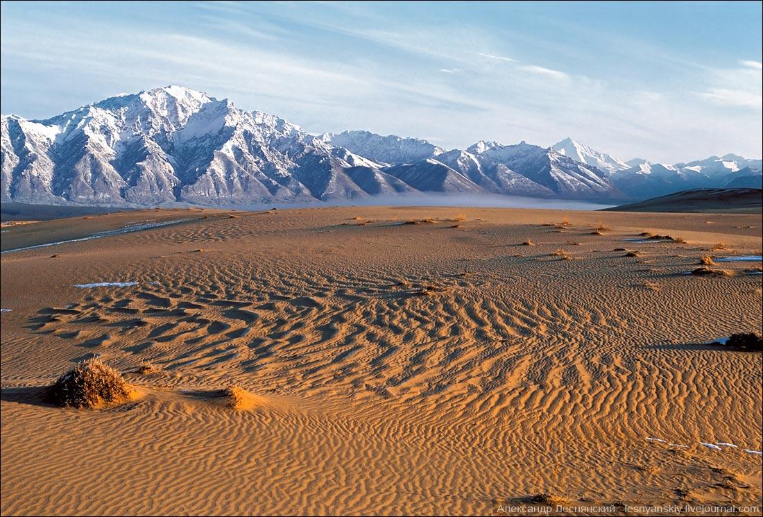 Чарские пески- маленькое песчаное чудо сибирской тайги