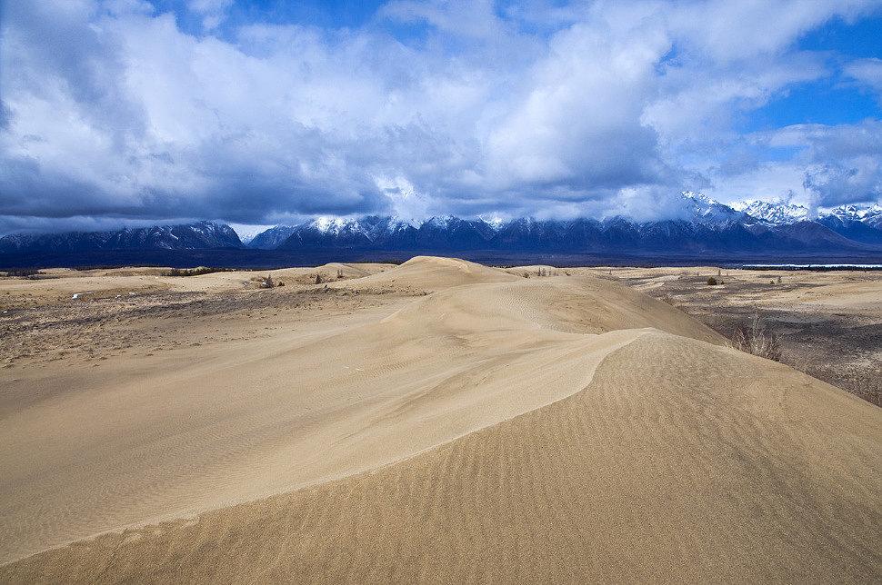 Чарские пески-чудо сибирской тайги