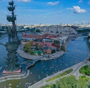 Москва 872 - и ты снова молода. День города в столице