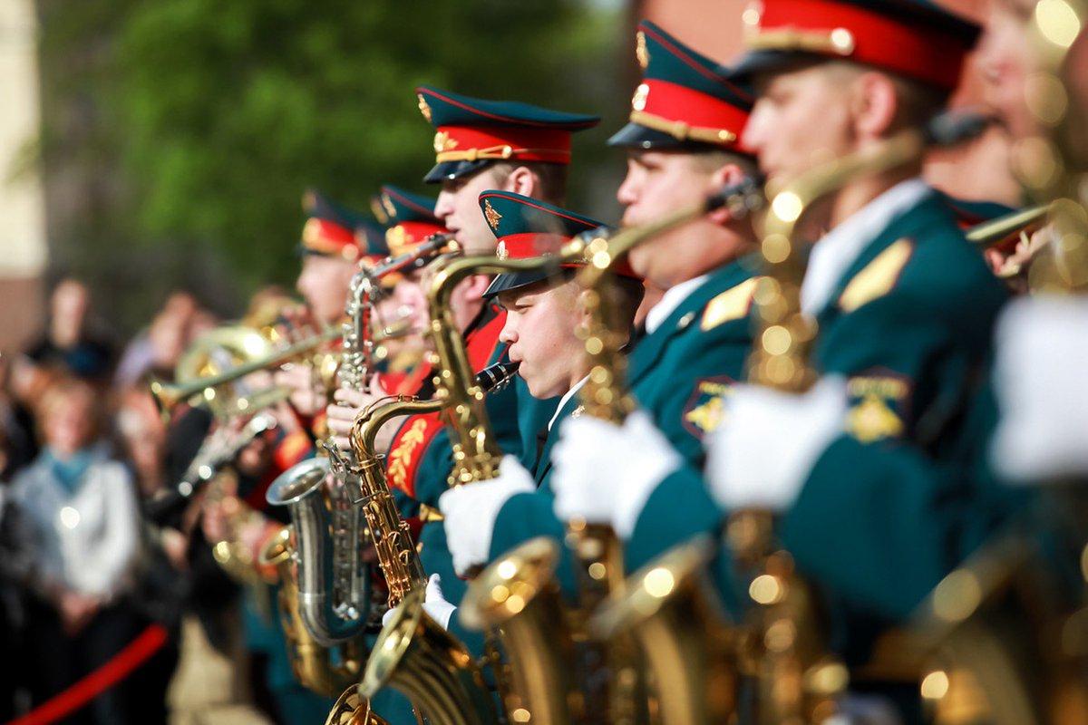 Военно-оркестровая служба считаеться одной из почетных в рядах вооруженных сил России