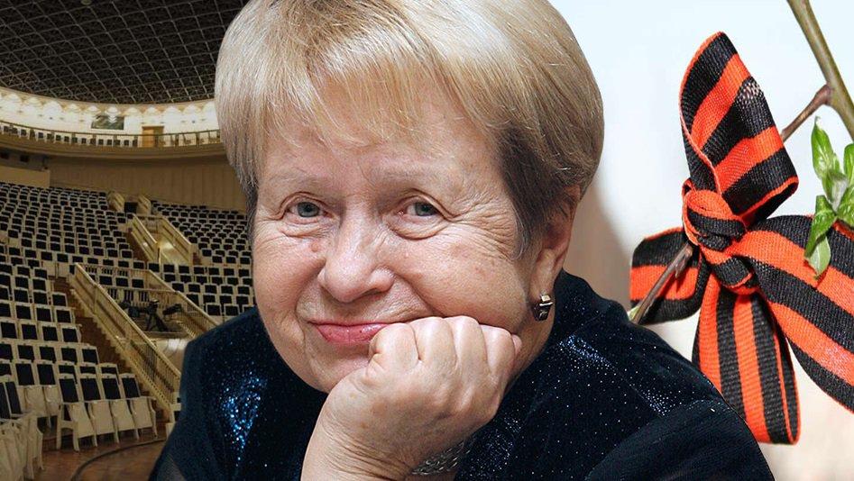 Александра Пахмутова отмечает юбилей