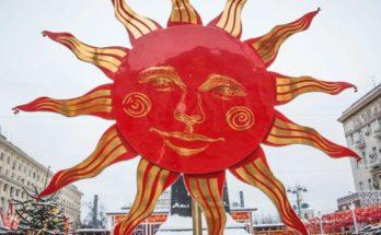 Солнце один из главных символов Масленнницы