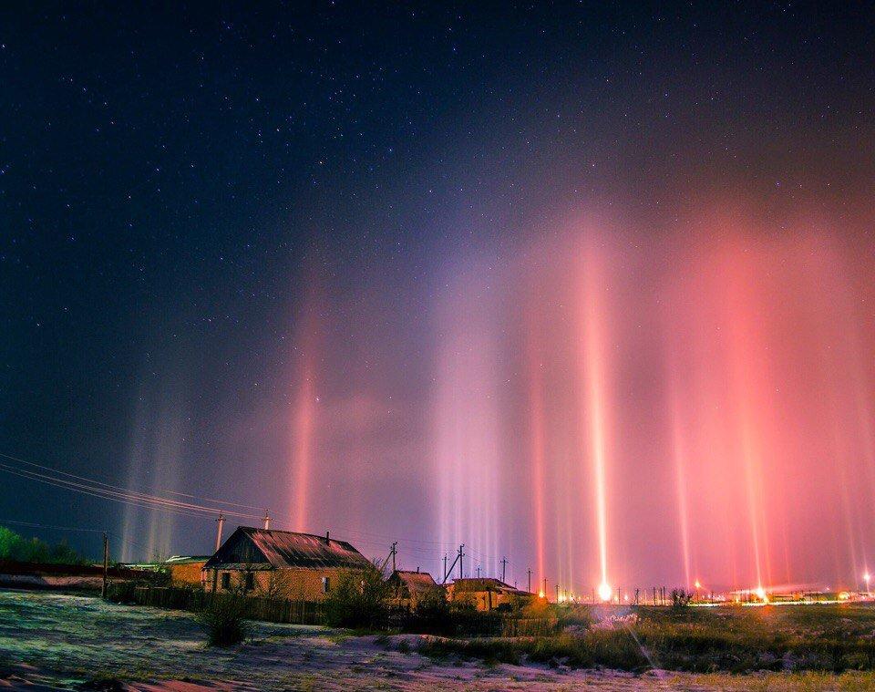 фото природных световых эффектов товарища уговорили