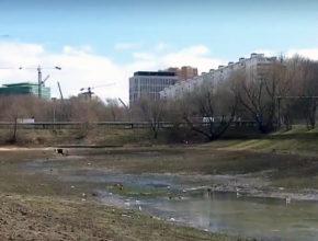©Вести.ру | Осушение Удальцовских прудов