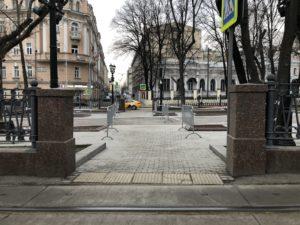 Карантин: Москва опустела
