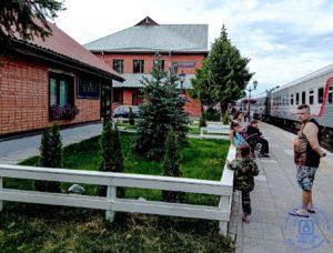 Проездом по Карелии: вокзал Сортавала