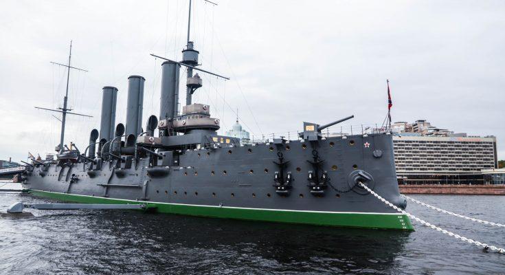 """Знаменитый крейсер """"Аврора"""""""