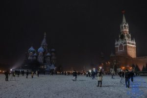 Первый снег в Москве подарил всем красоту