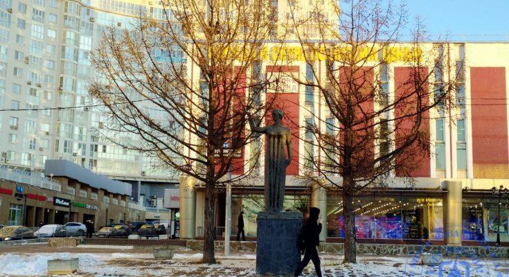 Копия Вильнюсской скульптуры «Первые ласточки»