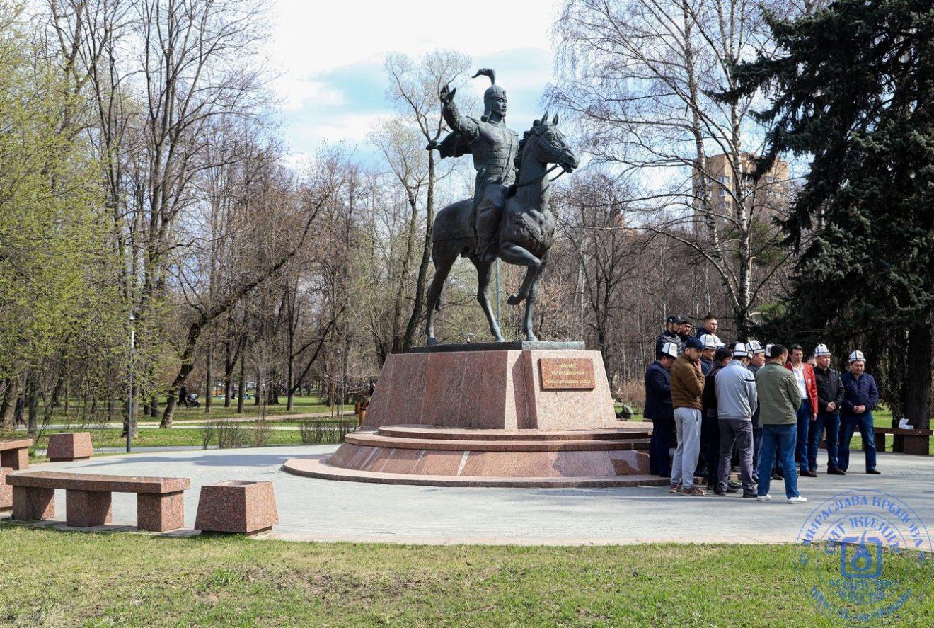 Герой крупнейшего героического эпоса киргизского народа