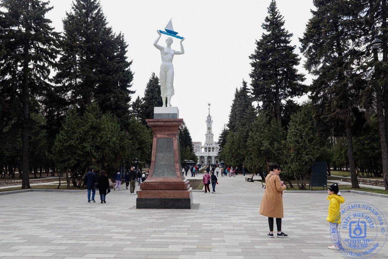 Парк Северного речного вокзала является объектом культурного наследия регионального значения.