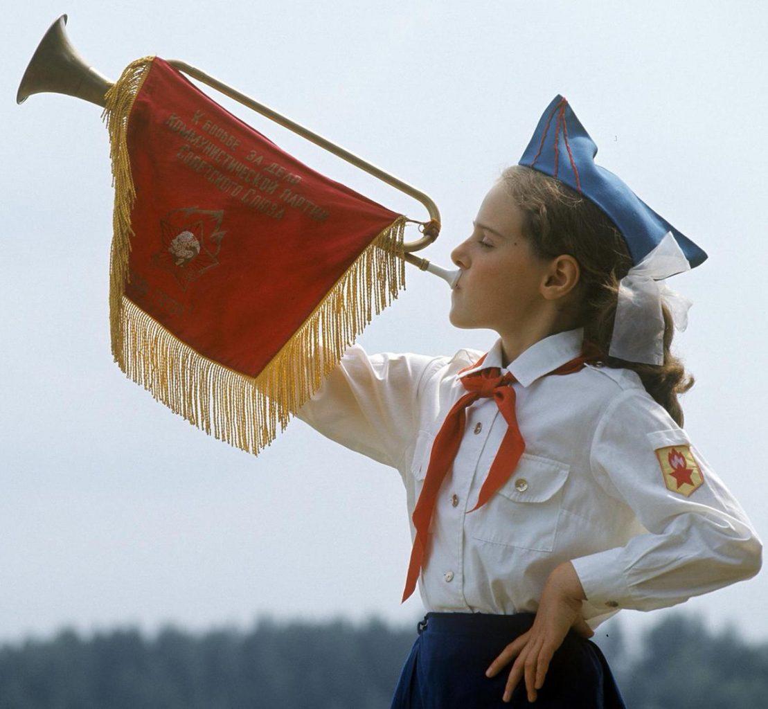 Пионер СССР всем детям пример
